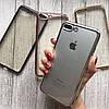 Прозрачный чехол с зеркальным бампером для iPhone 7 Plus, фото 2