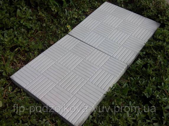 Тротуарная плитка вибролитая, фото 2