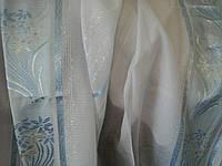 Тюль лен облегченный полоса