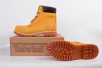 Ботинки мужские Timberland жёлтые ( без меха )  (Тимберленд)