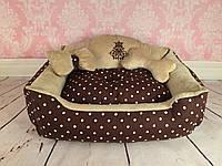 Лежак Сладкий сон шоколадный