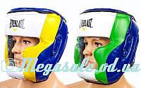 Шлем боксерский с полной защитой Elast 011 (шлем бокс): L/XL