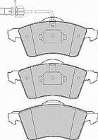 Гальмівні колодки передні з датчиком (ATE, R15, 156.4x68.5x19.5mm) VW T4 96-03 90-200-016 BSG