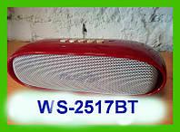 Портативная колонка WS-2517BT .Bluetooth MP3,FM, MicroSD!Акция