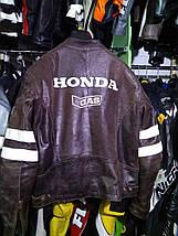 Мотокуртка бу кожа Honda, фото 3