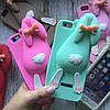 Силиконовый кролик Moschino для iPhone 6/6s, фото 2