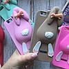Силиконовый кролик Moschino для iPhone 6/6s, фото 3