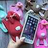 Силиконовый кролик Moschino для iPhone 6/6s, фото 5
