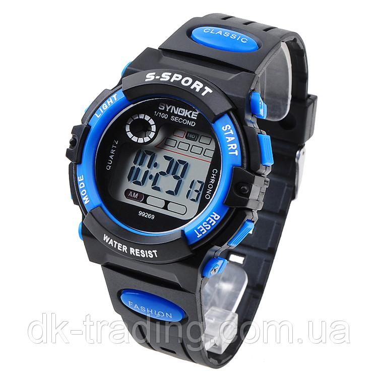 Часы мужские наручные S- SPORT blue