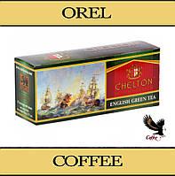 Чай зеленый CHELTON Green Tea 25 пакетиков