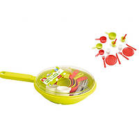Игровой набор Ecoiffier Сковорода с посудой (973)