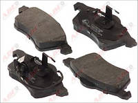 Гальмівні колодки передні з датчиком (ATE, R15, 156.4x68.5x19.5mm) VW T4 96-03 C1W060ABE ABE