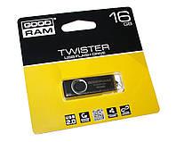Флешка 16Gb Goodram Twister Black / 19/8Mbps / UTS2-0160K0R11