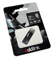 Флешка 8Gb AddLink U10 Grey / AD08GBU10G2