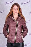 Куртка Наоми весна SL-5055 (кофейный), фото 1