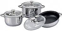 Набор посуды BOHMANN BH 0609 с индукционным дном