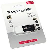 Флешка USB 3.0 32Gb Team C143 White / 70/30Mbps / TC143332GW01