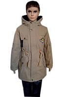 Модная детская куртка с карманами
