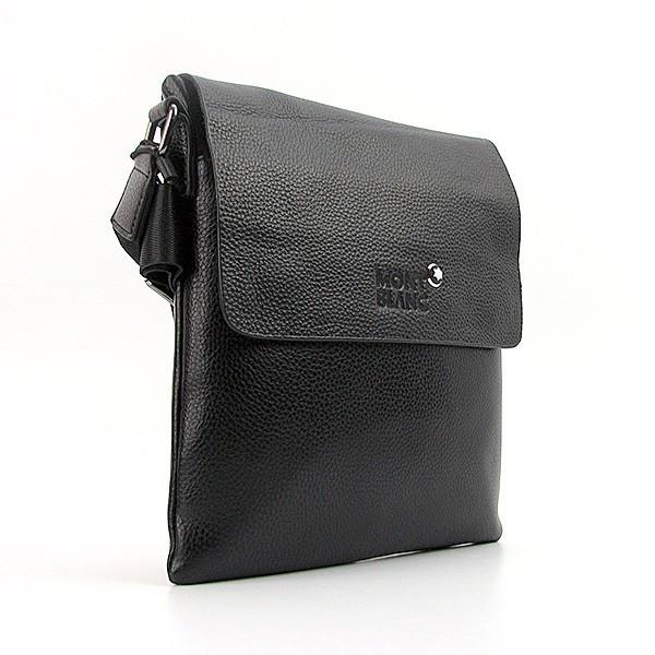 825ad321ed5a Сумка мужская средняя кожзам планшет черная MontBlanc 110301b -  Интернет-магазин