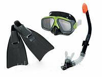 Ласты,для,подводного,плаванья в комплекте с трубкой и маской
