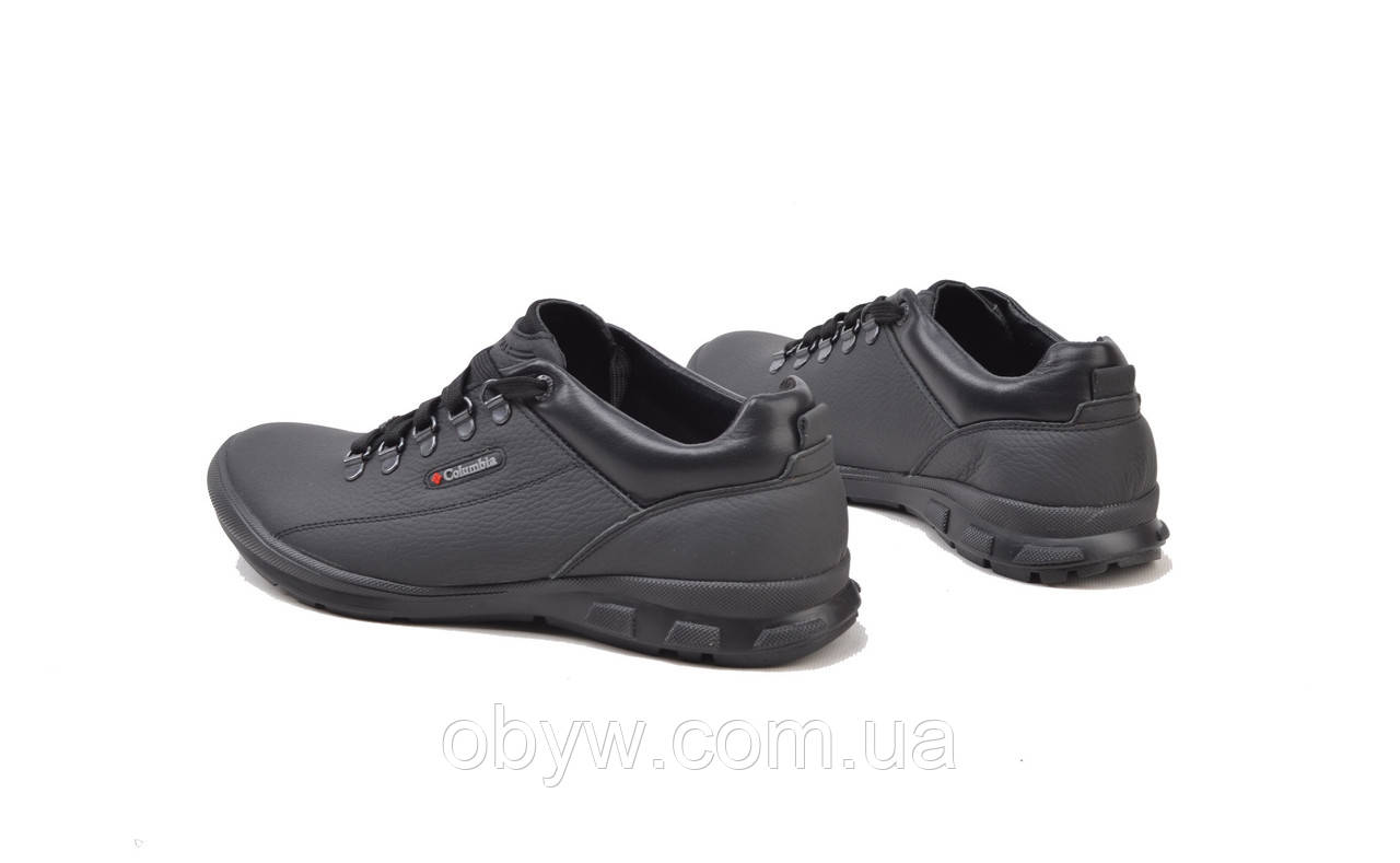 Туфли калумбия мужские кожаные