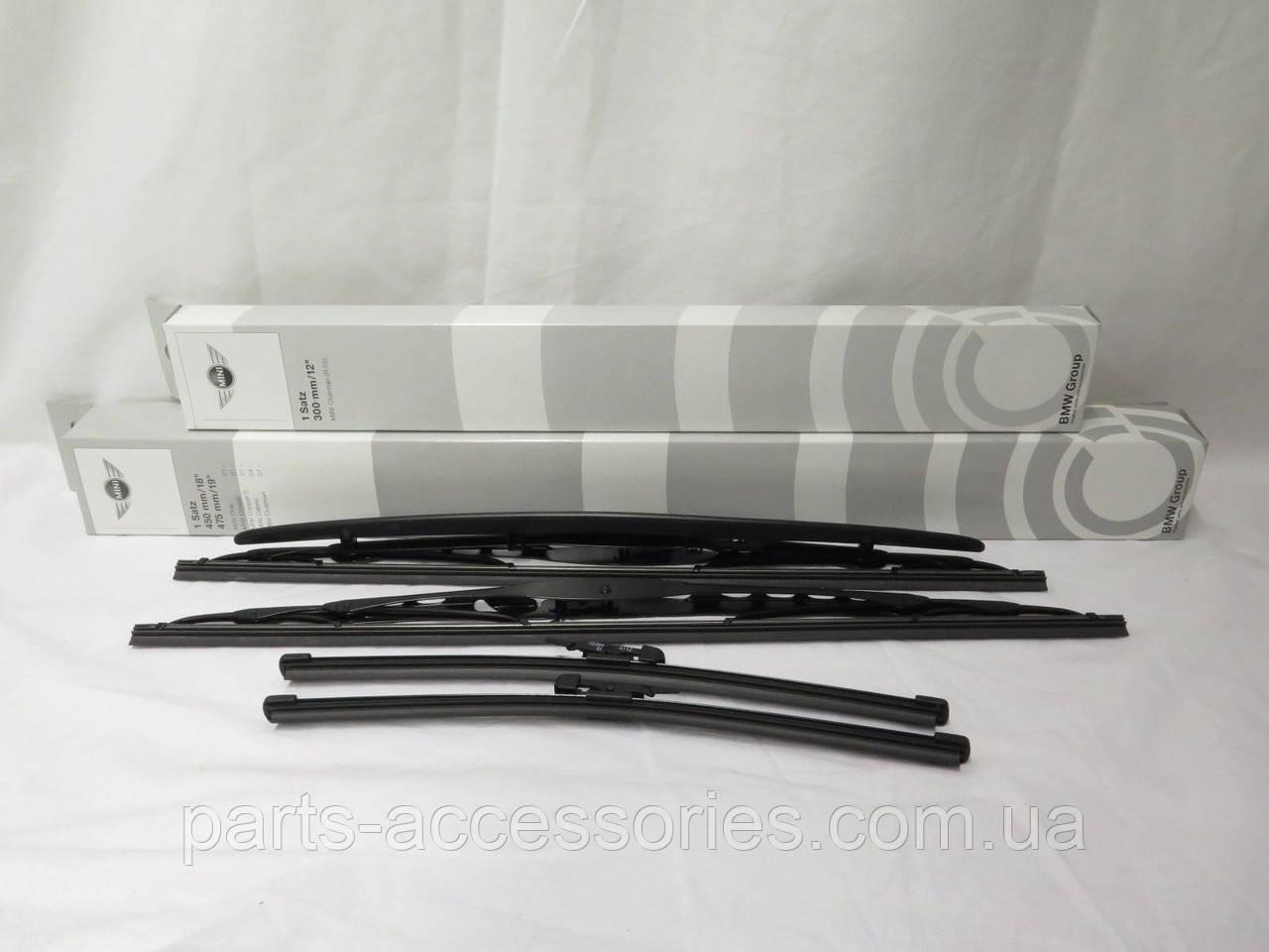Mini Cooper Clubman R55 2008-12 дворники щетки дворников стеклоочистители передние задние Новые Оригинал