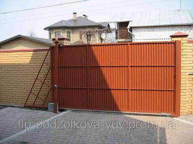 Ворота консольно-откатные