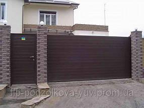 Ворота консольно-откатные, фото 3