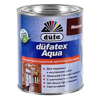 Декоративно-защитная пропитка для дерева düfa DUFATEX-AQUA 0,75л (орех,дуб, махагон, палисандр)