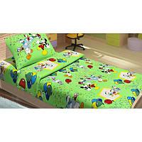 Постельное белье для подростков Lotus Young Donald Duck V2 зеленое