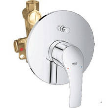 Смеситель для ванны встраиваемый GROHE EUROSMART NEW 33305002 без излива