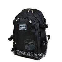 Городской рюкзак нейлоновый Lanpad 3371 черный, фото 1