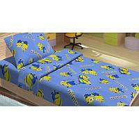 Постельное белье для подростков Lotus Young Minions Happy голубое