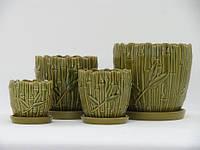 Наборы горшков для пересадки цветов К1.173