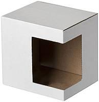 Упаковка для чашки картон с окошком