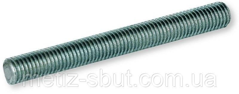 Шпилька резьбовая М14х1000 DIN 975 (производство Китай), фото 2