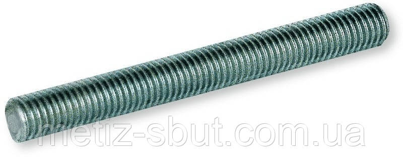 Шпилька резьбовая М6х1000 DIN 975 (производство Украина), фото 2