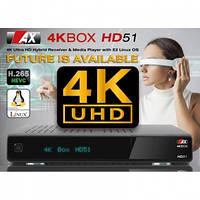 Ресивер AX 4K-BOX HD51 UHD DVB-S2 (Opticum)