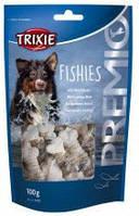Trixie TX-31599 Premio Fishies 100 гр - лакомство косточка с рыбой для собак