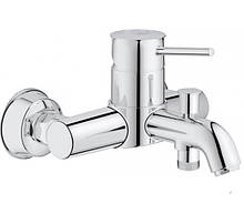 Смеситель однорычажный для ванны и душа GROHE BauClassic 32865000