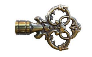Декоративный наконечник Эльзас для кованого карниза 16 мм.