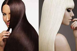 Средства и препараты для кератинового выпрямления волос. Косметика по уходу за волосами с кератином.