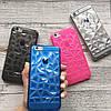 Силиконовый 3d чехол треугольники для iPhone 6/6s, фото 3