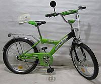 Велосипед двухколёсный   EXPLORER 20 T-22013 green + black***