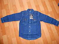 Рубашка джинсовая мальчик размер 12