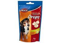 Trixie ТХ-31621 Milk Drops Дропсы со вкусом молока для собак, 75 грамм