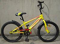 Велосипед двухколёсный FLASH 20 T-22042 YELLOW***