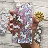 Чехол с переливающимися блёстками и единорогами для iPhone 6/6s, фото 3
