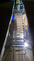 Хромированная накладка на бампер Fiat Doblo до 2010 г.