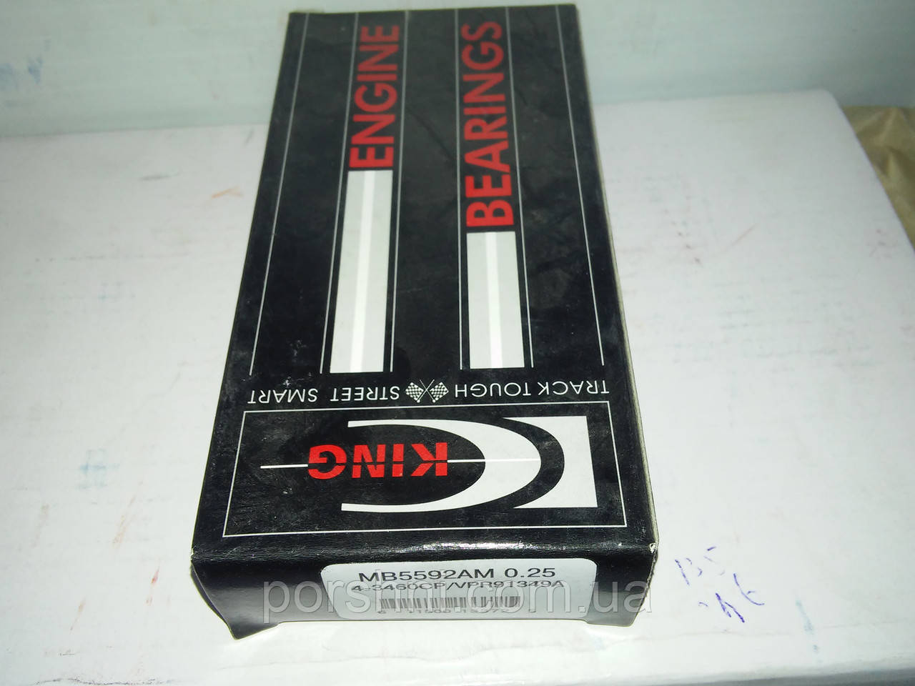 Вкладыши коренные Ford Тransit   2.0 - 2.4 DI 2001 -- STD  king  MB 5411